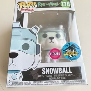Funko POP Animation Rick and Morty #178 SNOWBALL